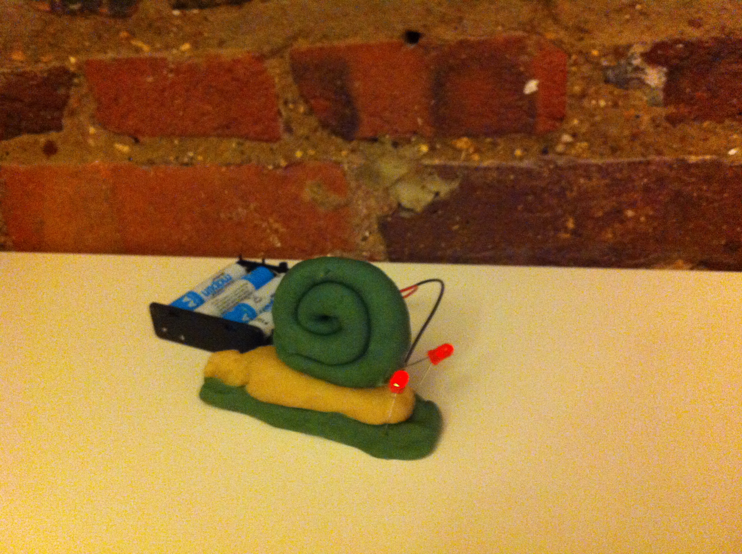 Fun With Squishy Circuits The Code Club Blog Make Your Own Circuit Basic Snail