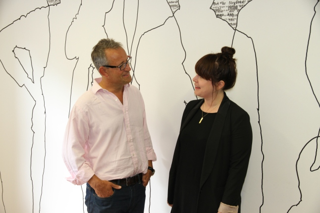 Guy Mucklow, CEO of Postcode Anywhere and Laura Kirsop, Growth Captain of Code Club