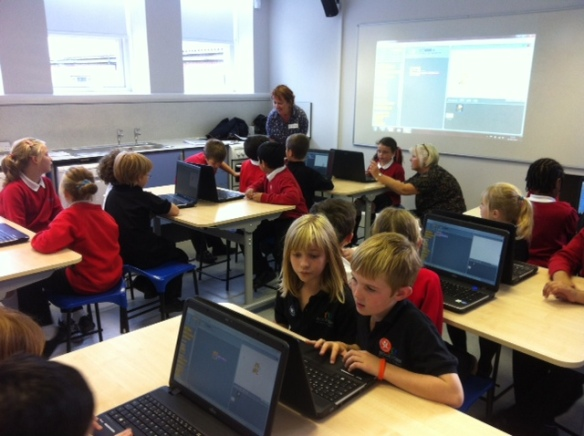 Code Club at Moortown Primary