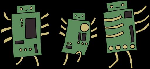 Microchip - Happy