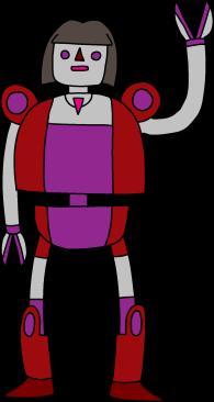 Hipster Robot 002